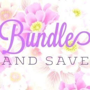 Bundle and save free gift with each purchase